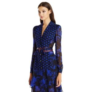 Diane von Furstenberg silk Catherine dress